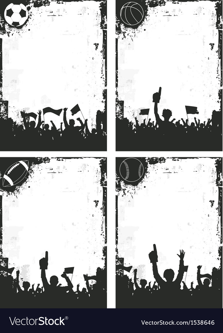 Sport Backgrounds vector image