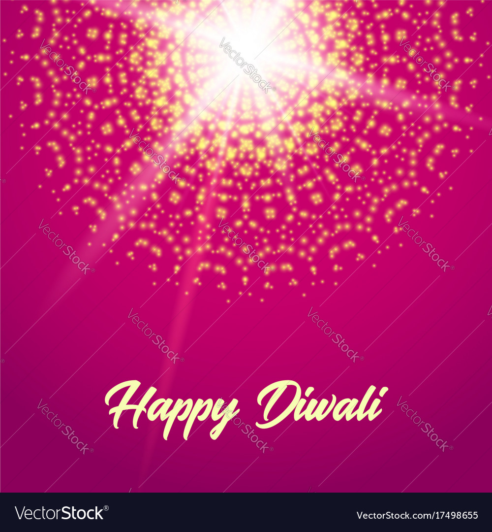 Happy diwali greeting card mandala royalty free vector image happy diwali greeting card mandala vector image m4hsunfo Images