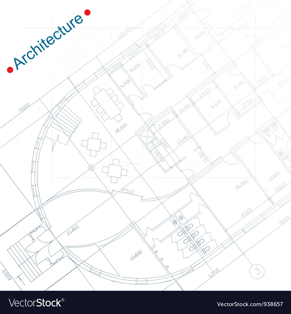 Architecture Documents vector image