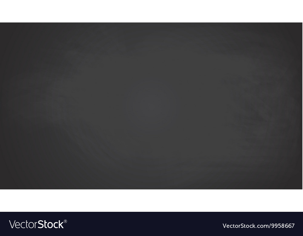 Black chalkboard background texture vector image