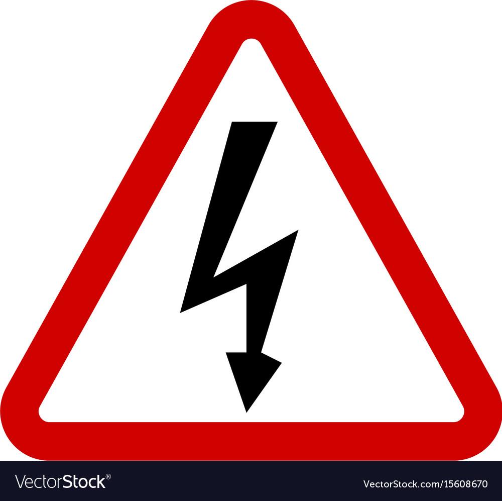 High voltage sign danger symbol royalty free vector image high voltage sign danger symbol vector image buycottarizona