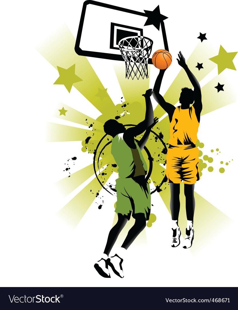 Basketball forever vector image