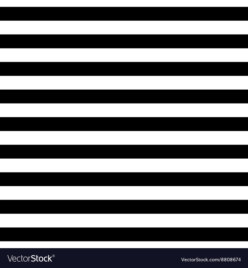 Tile pattern black and white stripes background vector image