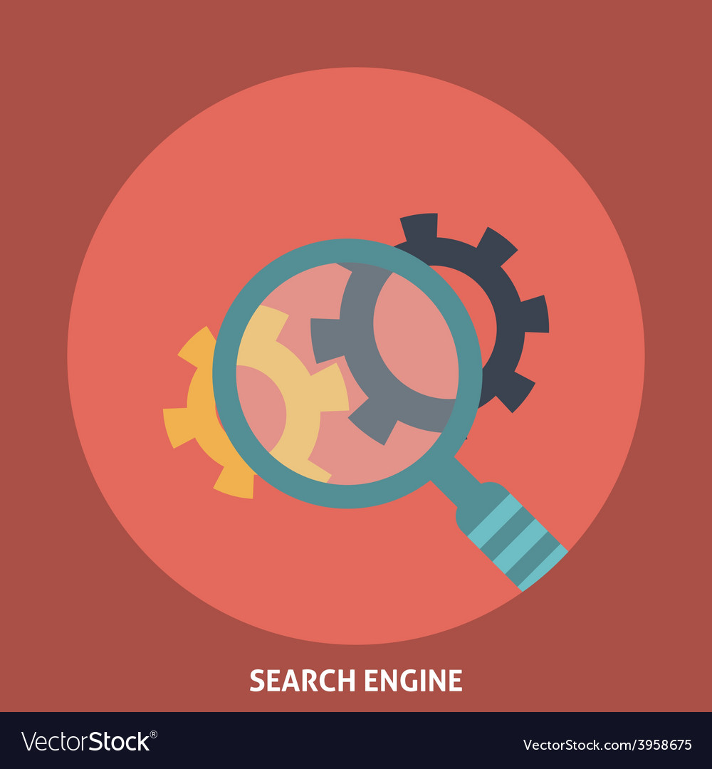 Search Engine vector image