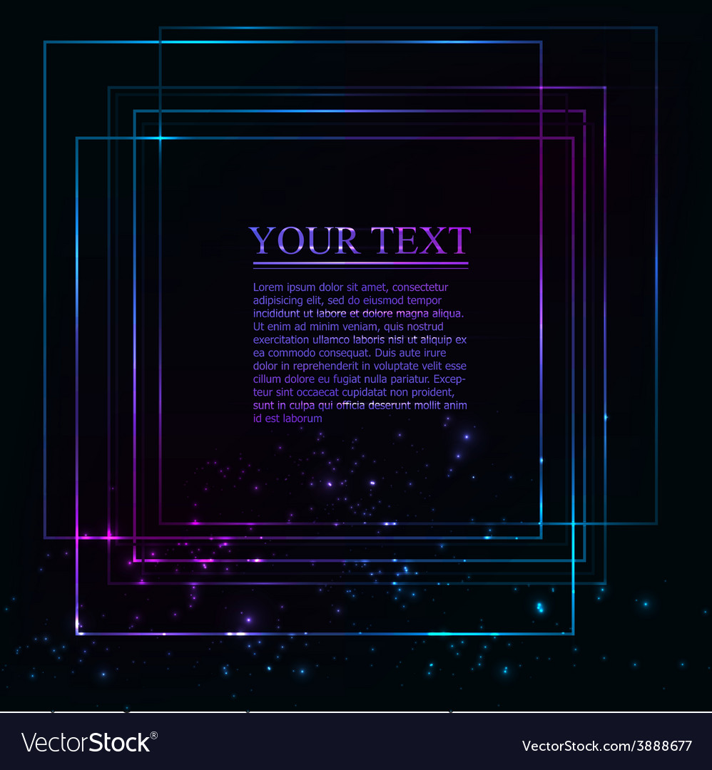 Bstract lights purple and blue background vector image