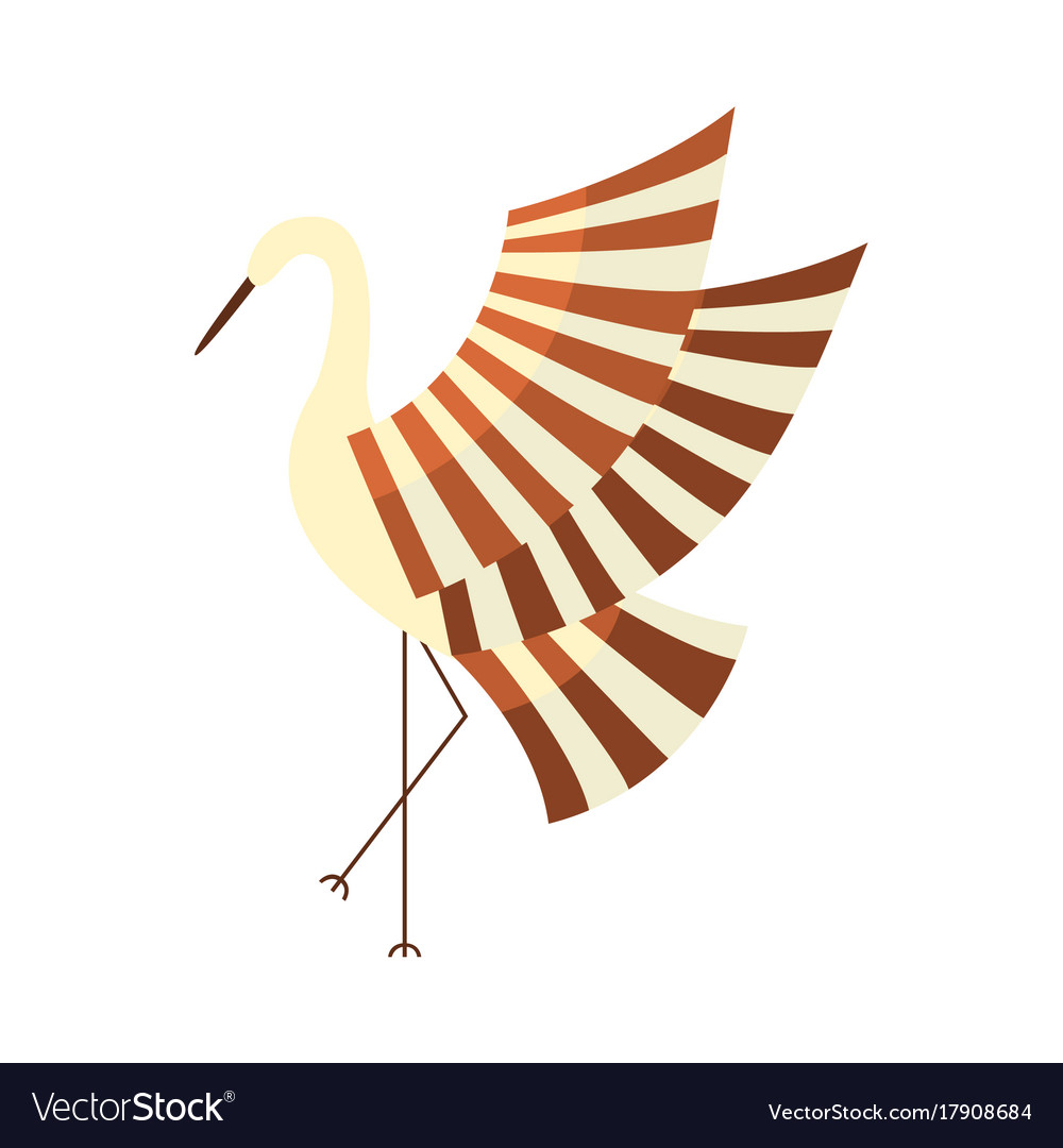 Japanese crane symbol of good luck and longevity vector image japanese crane symbol of good luck and longevity vector image buycottarizona