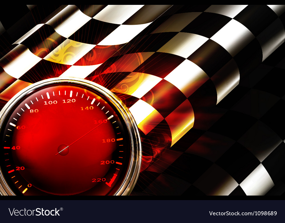 Racing Background Horizontal vector image