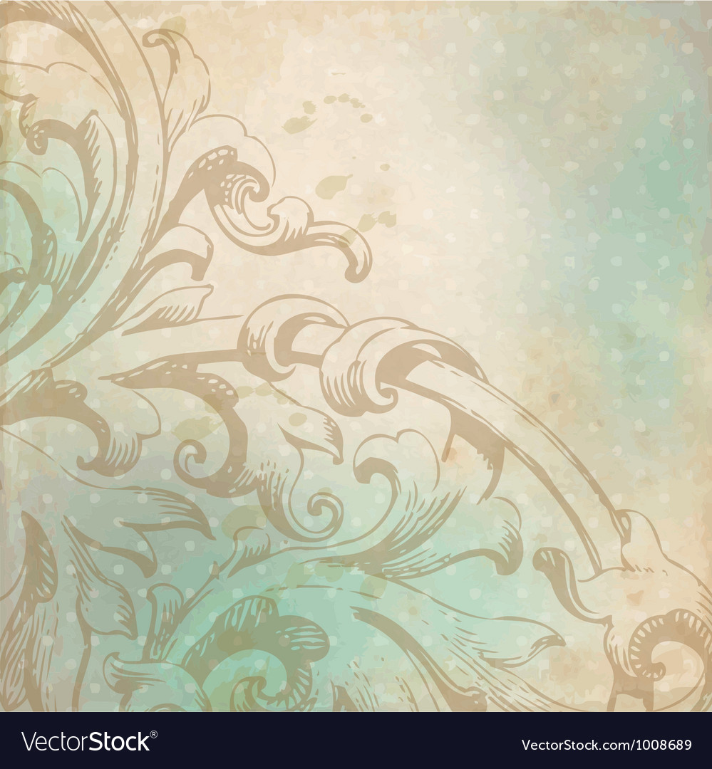 Historical pattern vector image