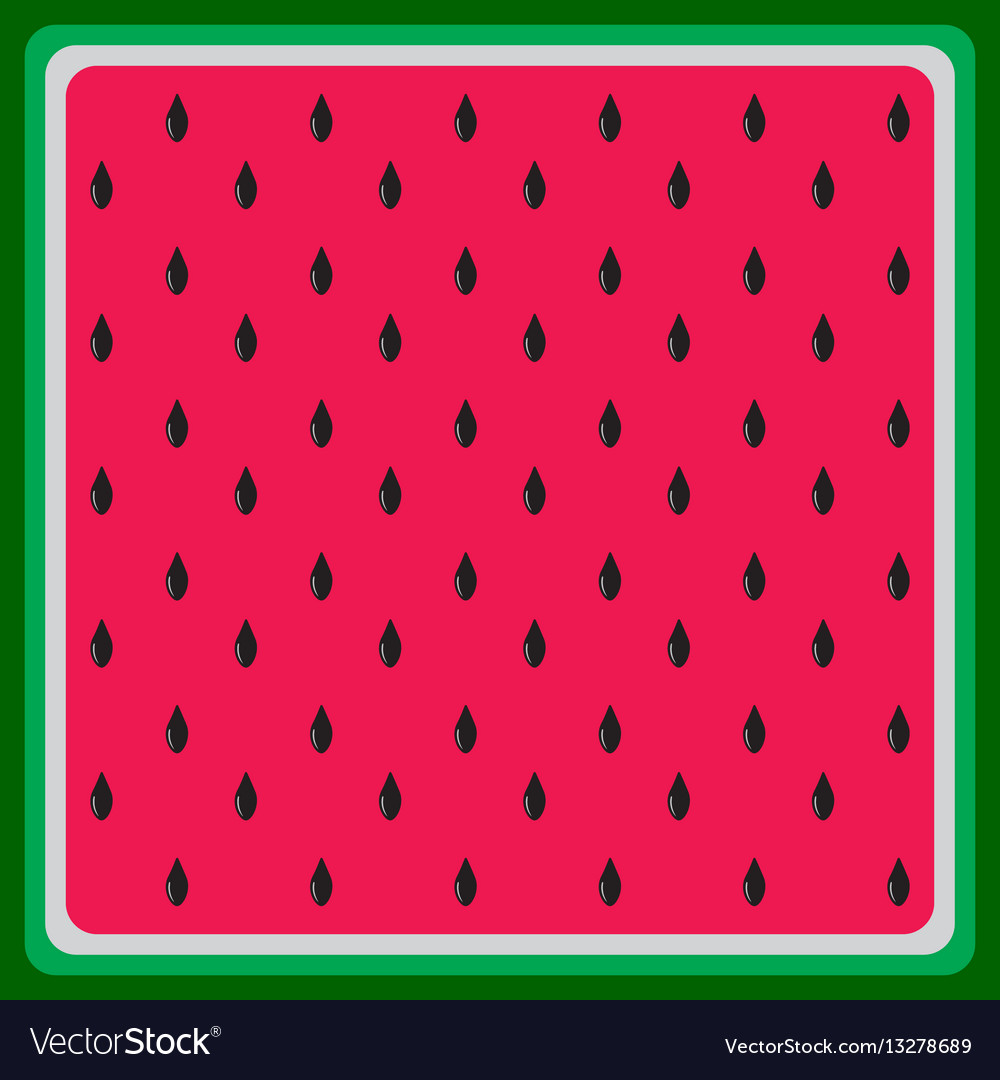 Watermelon flat background texture vector image