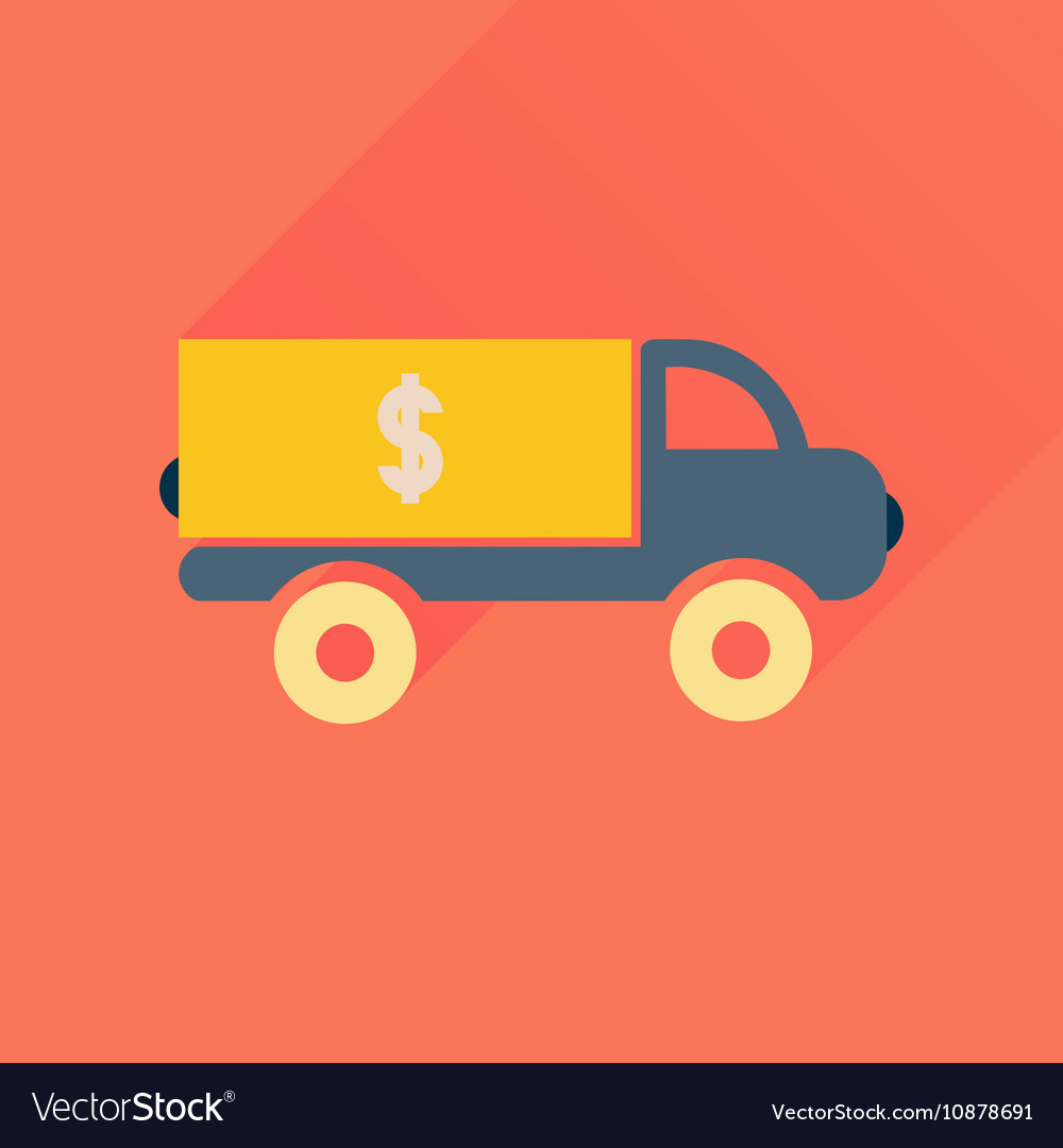 concept of auto loan in flat design