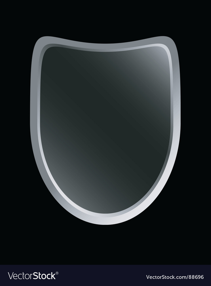 Gradient shield vector image