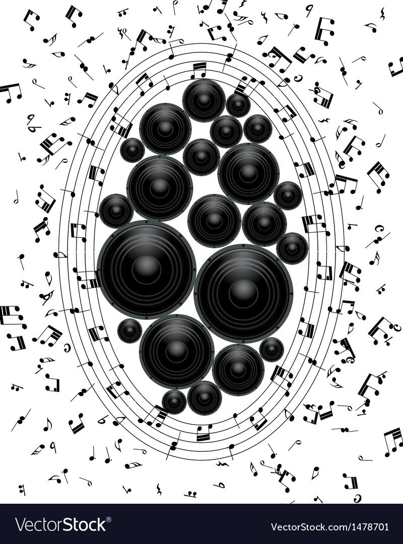Grunge mb vector image