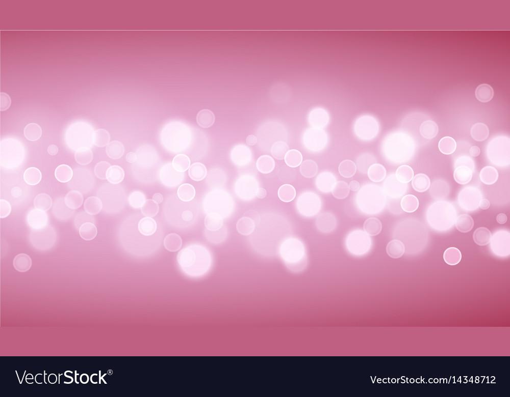 Pink lights backgrounds vector image