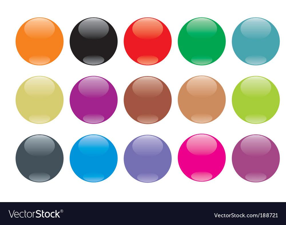 Buttonball vector image