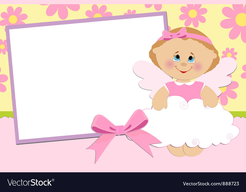 Blank template for greetings card Royalty Free Vector Image – Free Blank Greeting Card Templates