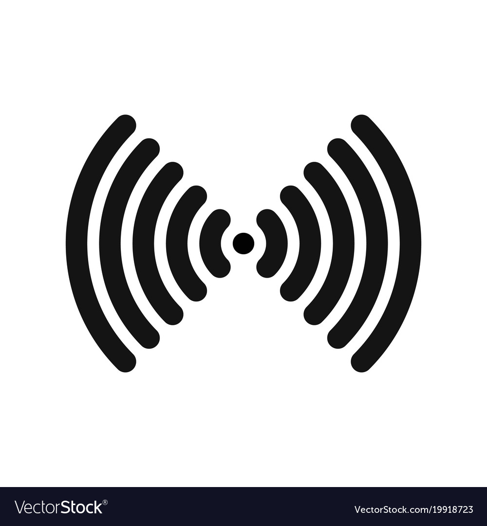Wifi symbol wireless internet connection or vector image buycottarizona Images