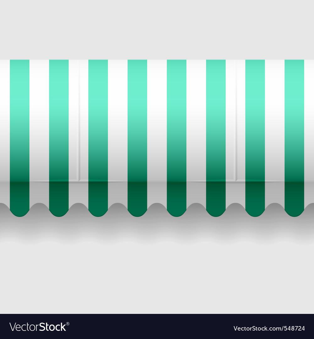 Seamless awning vector image