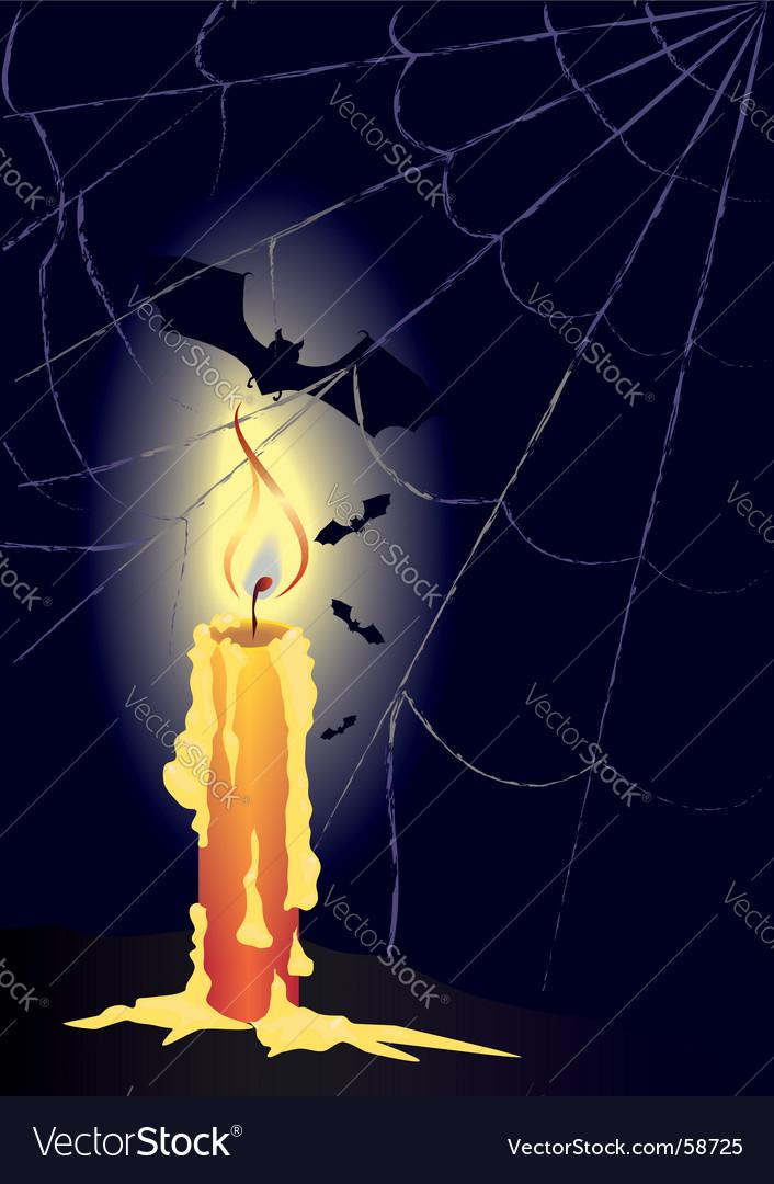 Dark night vector image