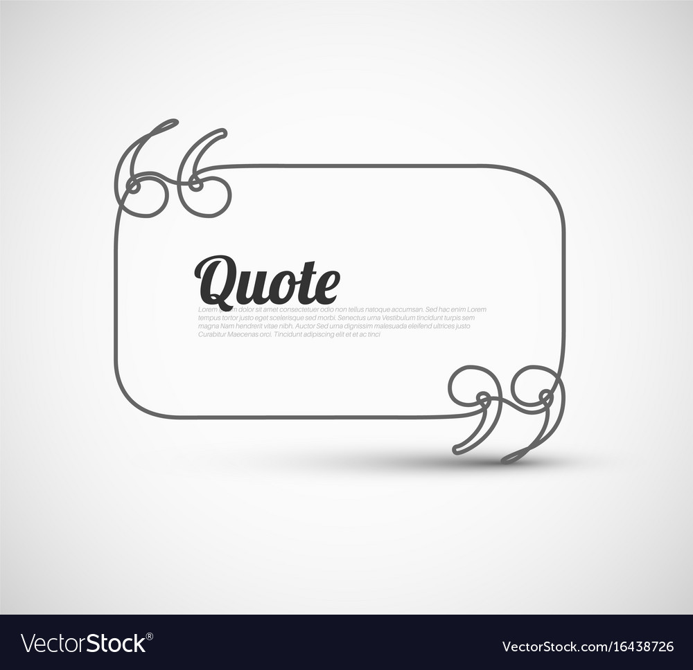 Google Finance Stock Quotes: Blank Quote Template Royalty Free Vector Image