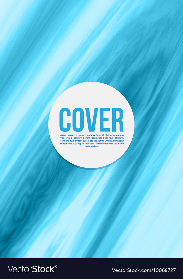 Smooth texture background Business cover vector image