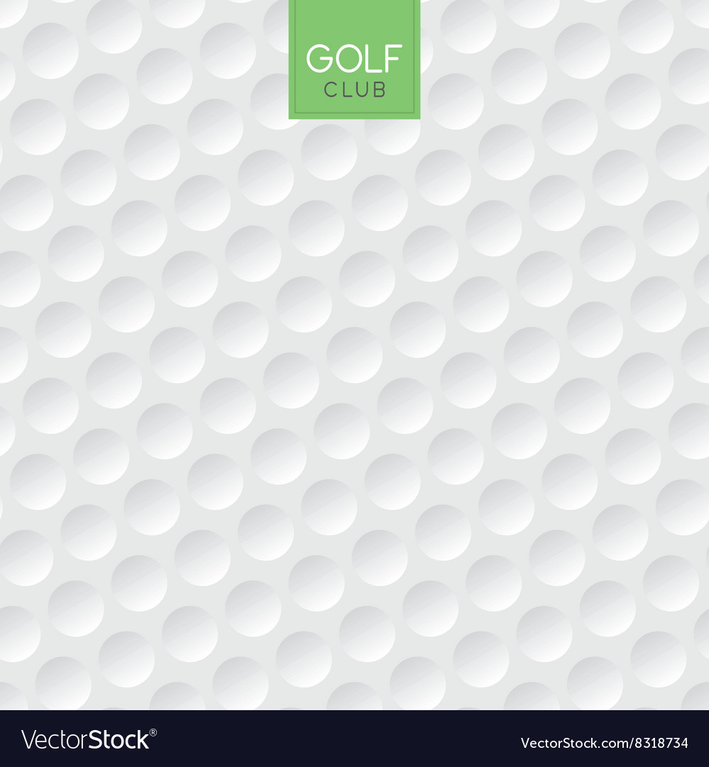 golf ball texture background royalty free vector image