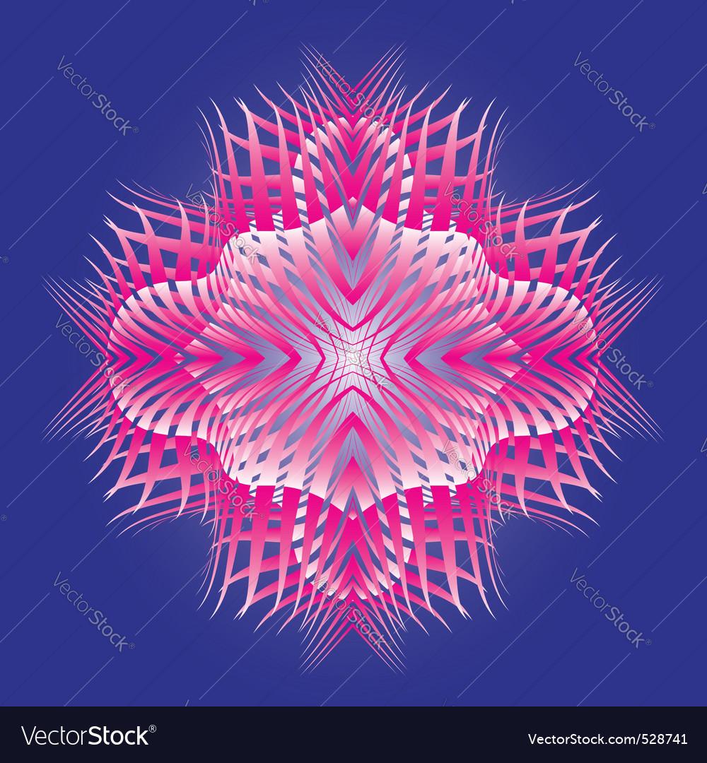 Abstract magic star Vector Image