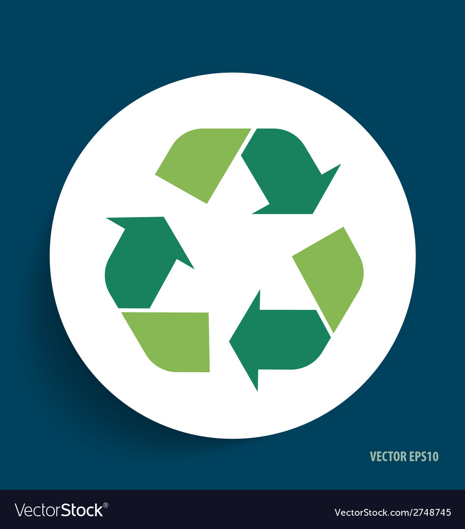Recycle symbol symbol on the packaging royalty free vector recycle symbol symbol on the packaging vector image buycottarizona Images