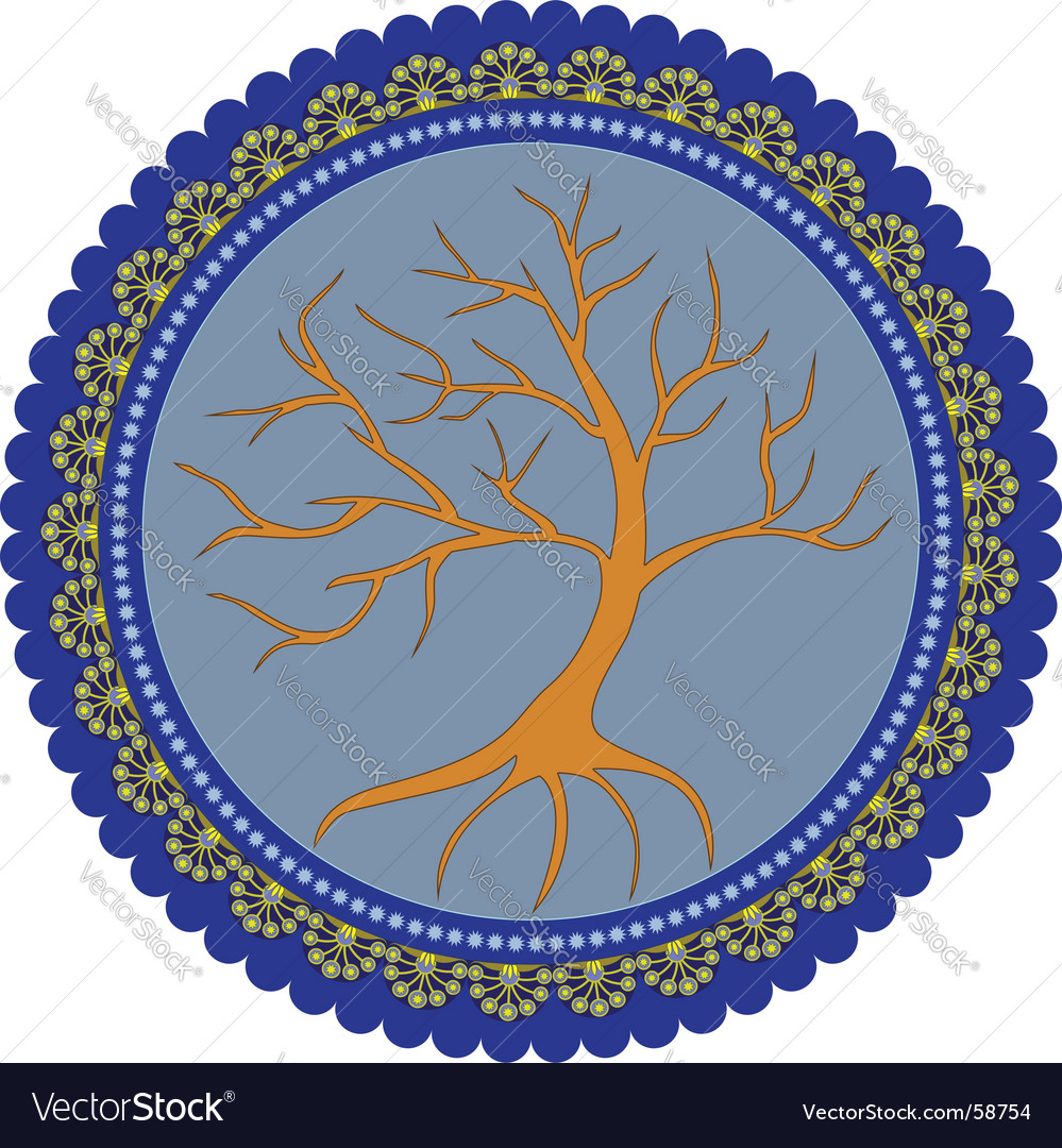 Tree of life vector image