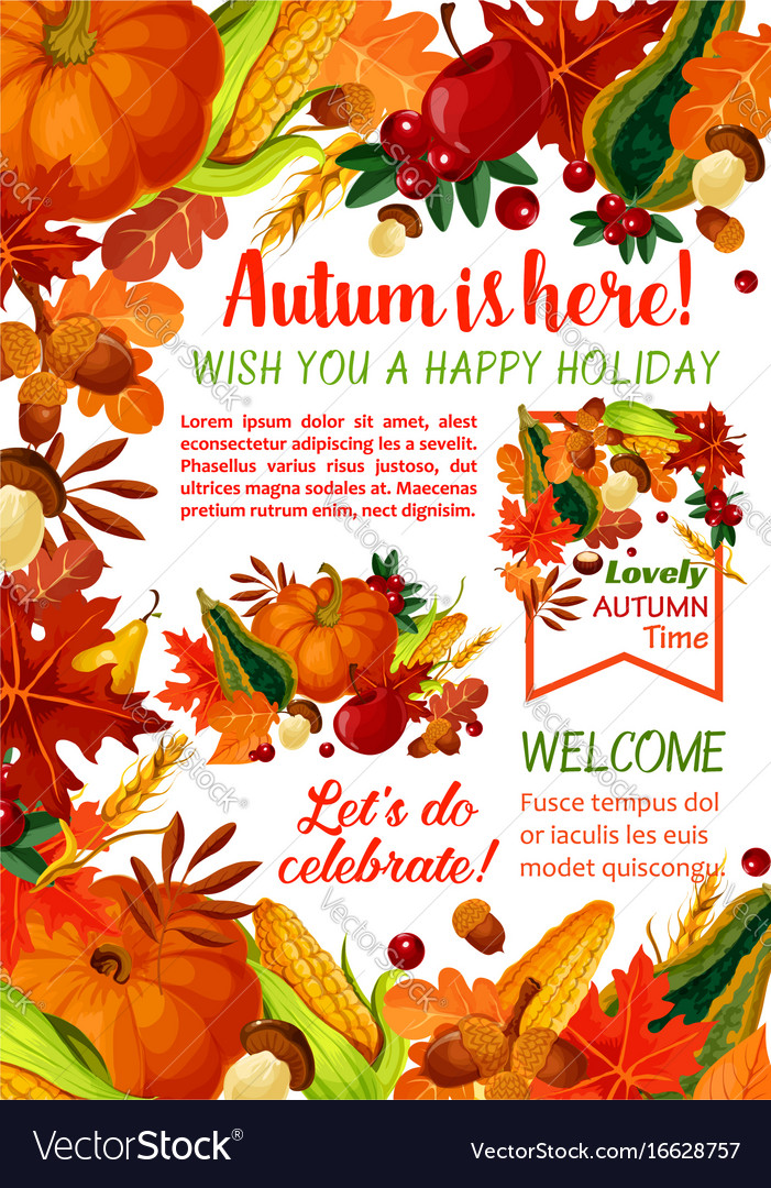 holiday poster template