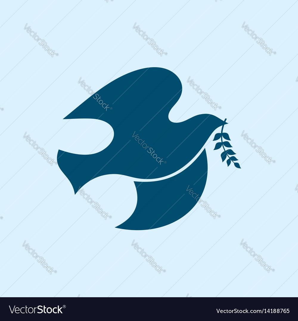 Dove symbol of the holy spirit royalty free vector image dove symbol of the holy spirit vector image biocorpaavc