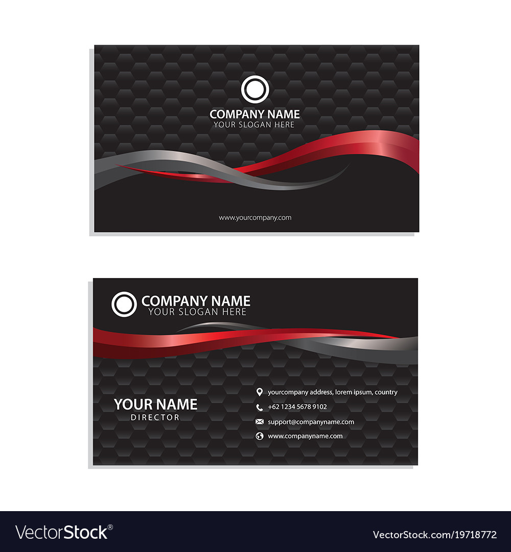 ready to use visiting card