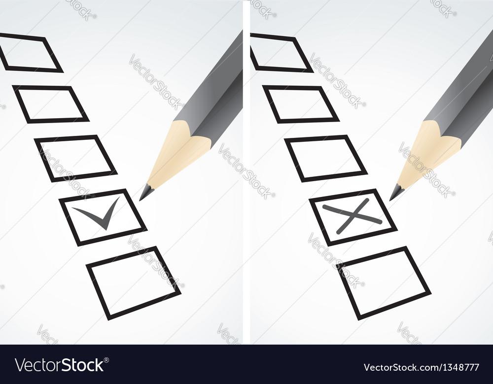 Markings in pencil vector image