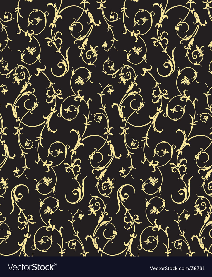 Renaissance wallpaper vector image