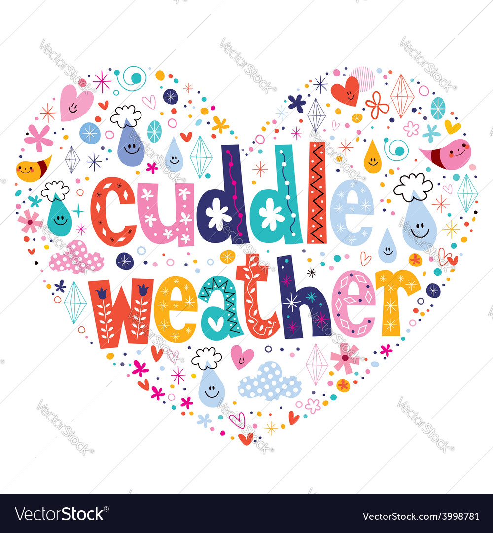 Cuddle weather royalty free vector image vectorstock cuddle weather vector image biocorpaavc Gallery