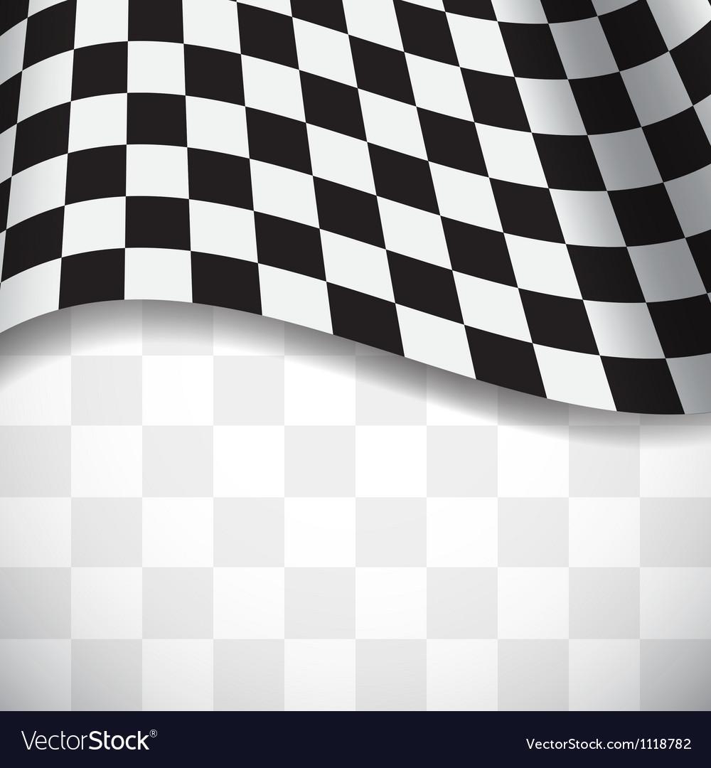 Racing background vector image