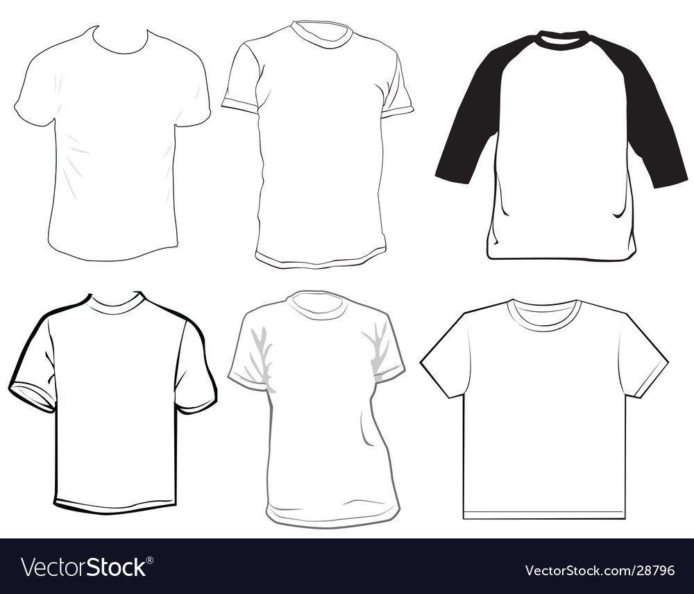 Clothes template royalty free vector image vectorstock clothes template vector image pronofoot35fo Choice Image