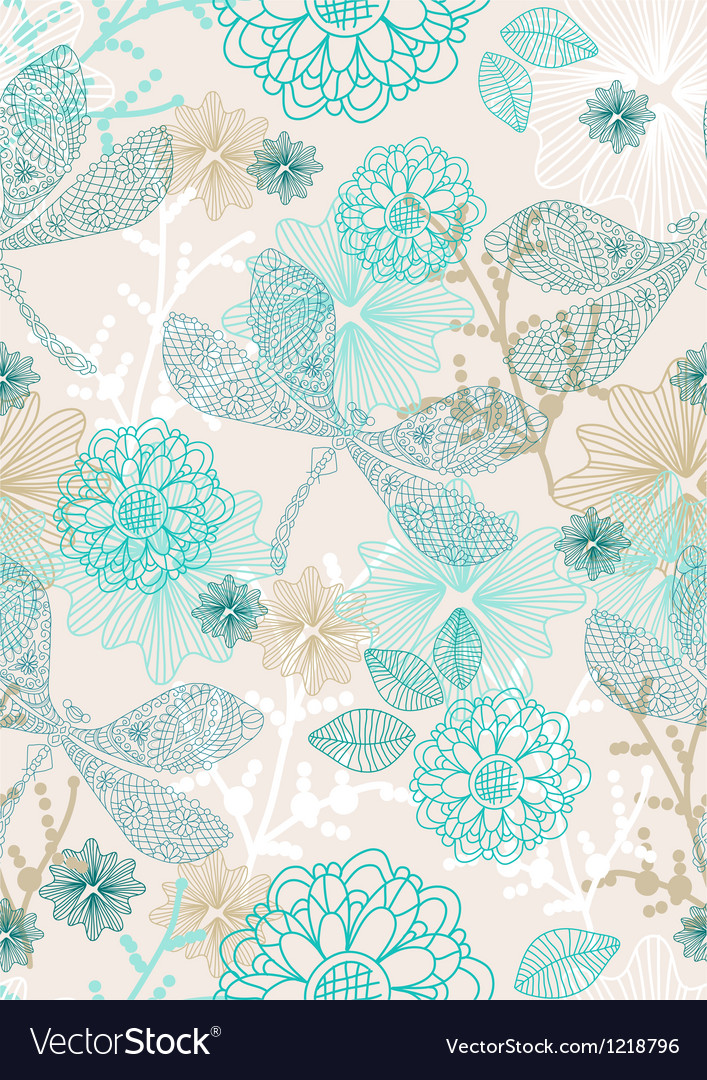 Seamless background with dragonfly vector image