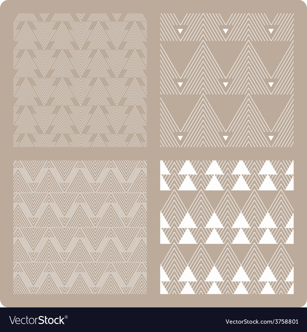 Geometrical abstract pattern vector image