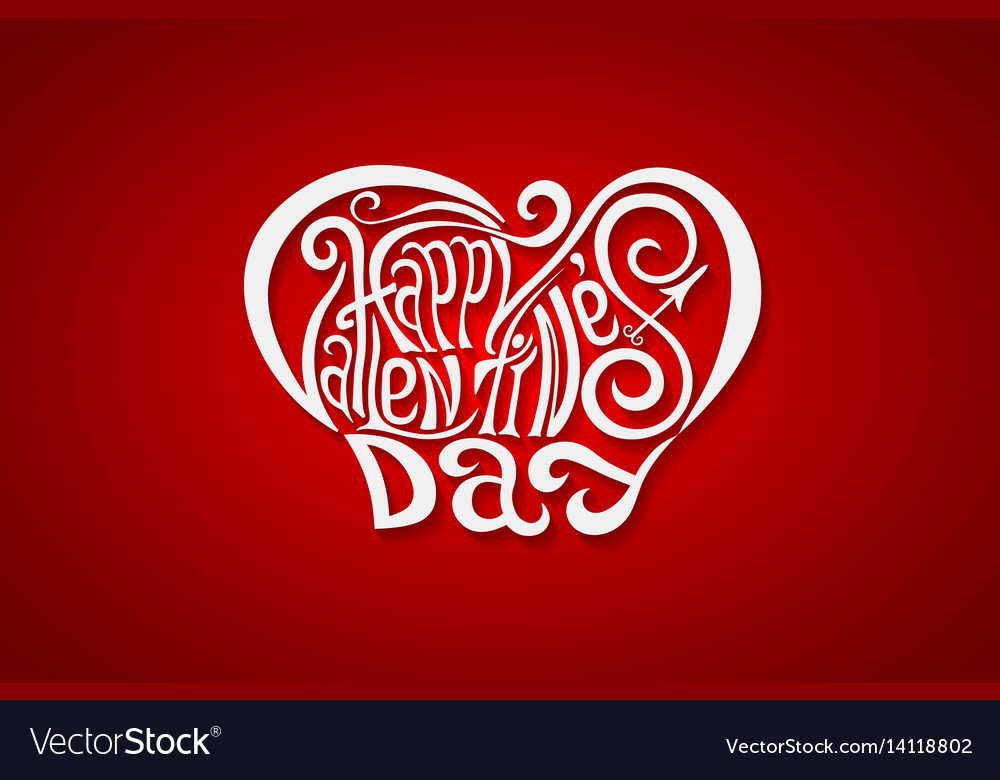 Charming Happy Valentines Day Lettering Ideas - Valentine Gift ...