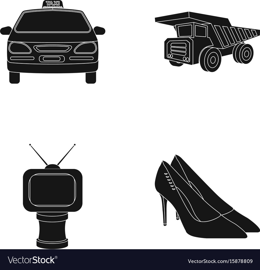 Service film and or web icon in black styleaward vector image