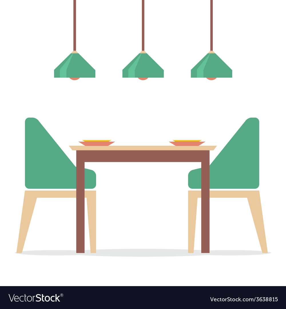 100 Cartoon Dining Room Crafters Corner Doll House  : flat design interior dining room vector 3638815 from 45.76.23.192 size 1000 x 1080 jpeg 101kB