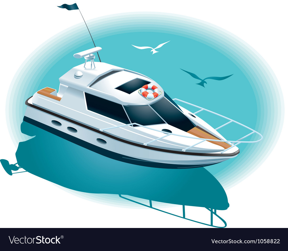 Marine recreation Vector Image