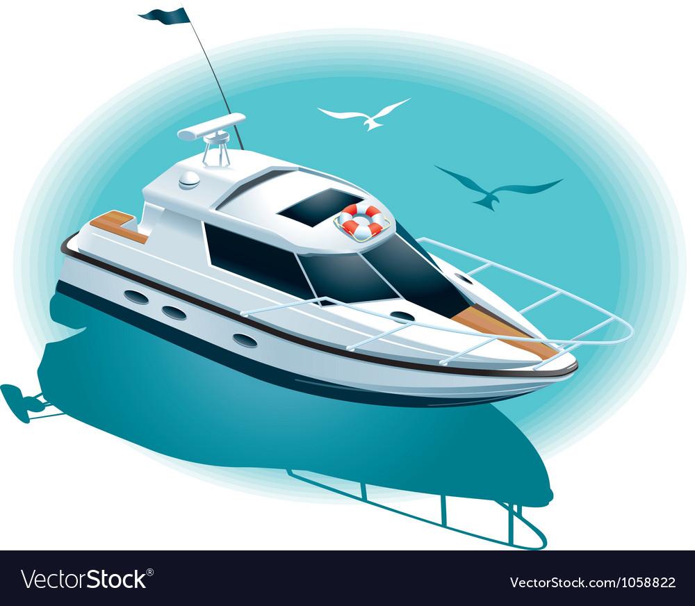 Marine recreation vector image