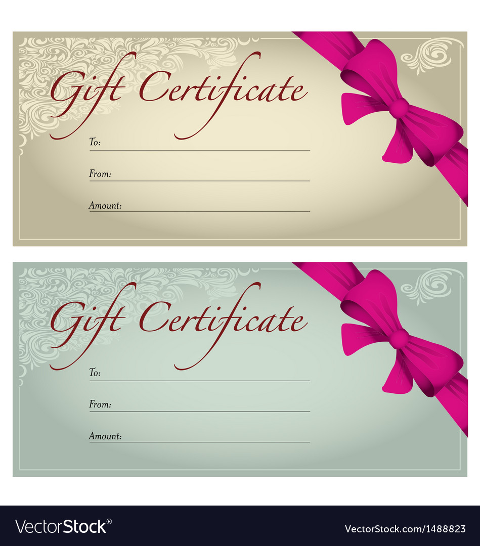 Gift voucher royalty free vector image vectorstock gift voucher vector image negle Image collections