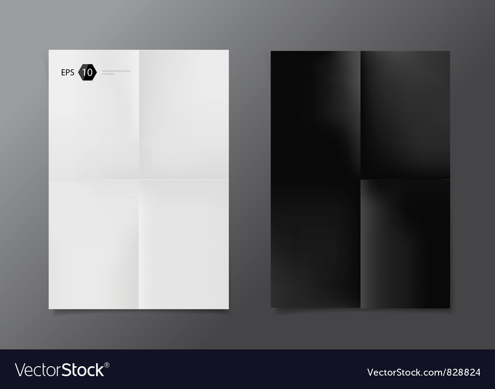 Poster Vector Image