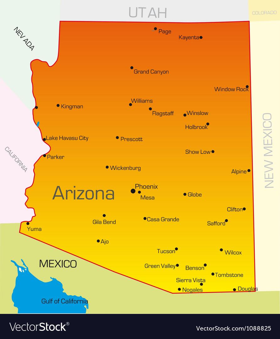 Arizona vector image