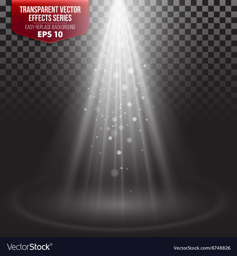 Transparent Effects Series Easy vector image