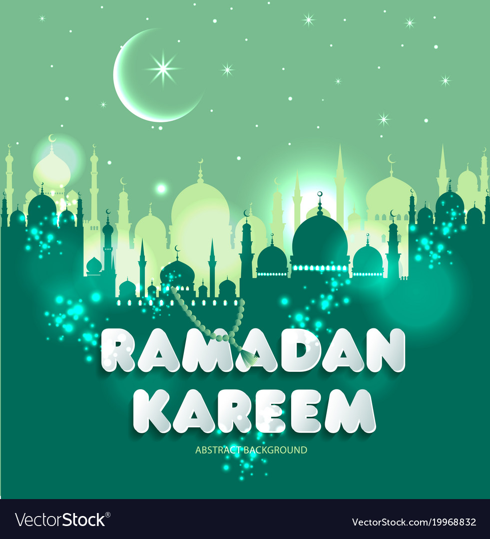 Muslim abstract greeting banners islamic vector image m4hsunfo Choice Image
