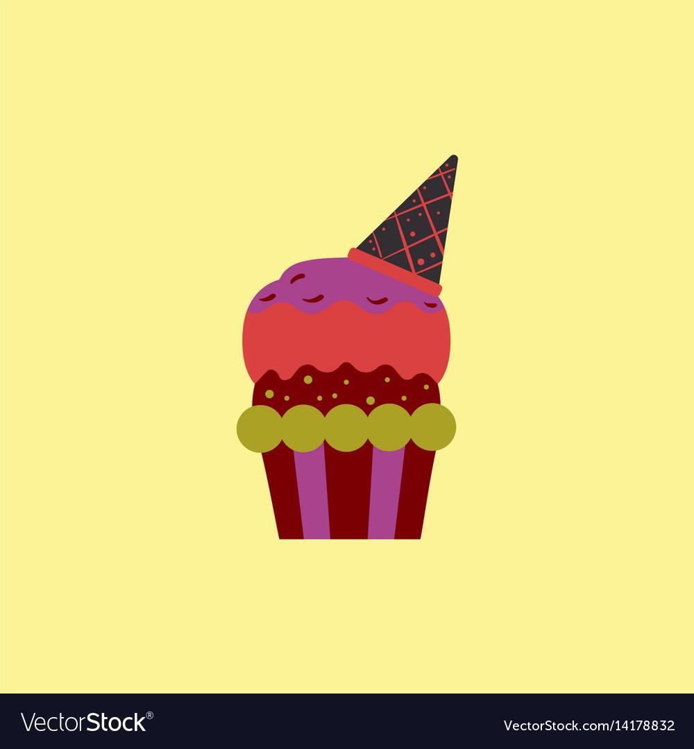 Party cupcake dessert