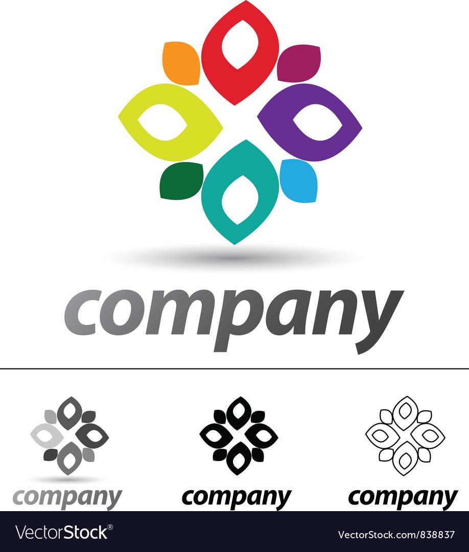 Windmill Logo vector image
